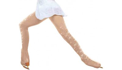 ChloeNoel Over-The-Boot 2x Crystal Scatter Tights
