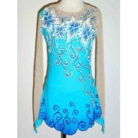 Elite Skate Wear Long-Sleeved Swirl Dress- SALE!