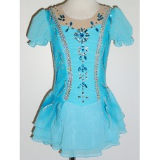 Elite Skate Wear Short-Sleeved Princess Dress- SALE!