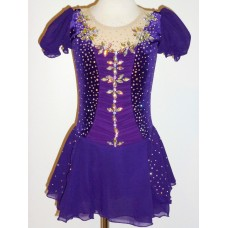 Elite Skate Wear Short-Sleeved Sparkle Dress- SALE!