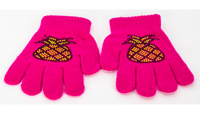 ShinyHandz Rhinestone Design Youth Gloves