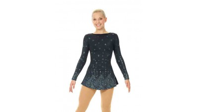 Mondor Glitter Long-Sleeved Dress