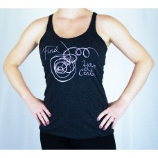 Find Your Center Ladies Tank Top