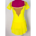 Sharene Designs 73-50 SS Youth Skating Dress (Yellow)- SALE!
