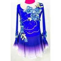 Joyce+Co Sapphire Bell Sleeve Skating Dress-SALE!