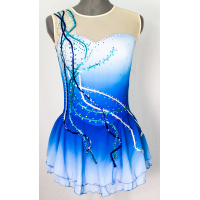Joyce+Co Raining Sequins Ombré Skating Dress- SALE!