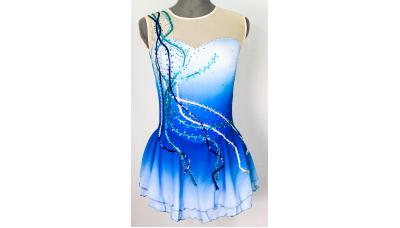 Joyce+Co Raining Sequins Ombré Skating Dress- SALE!