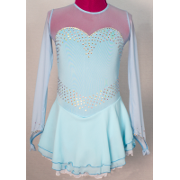 Joyce+Co Long-Sleeved Sweetheart Skating Dress- SALE!