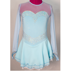 Joyce+Co Long-Sleeved Sweetheart Skating Dress- SALE!