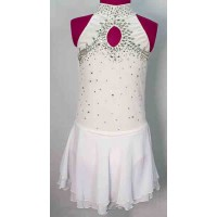 Joyce+Co Jeweled Loop Velvet Skating Dress- SALE!