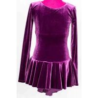 Mondor Velvet Long-Sleeved Dress