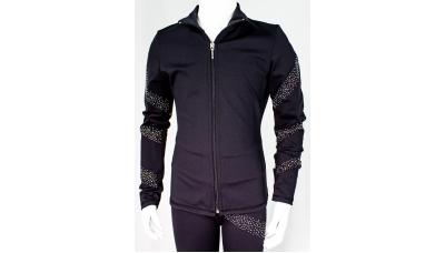 ChloeNoel Crystal Spiral Jacket
