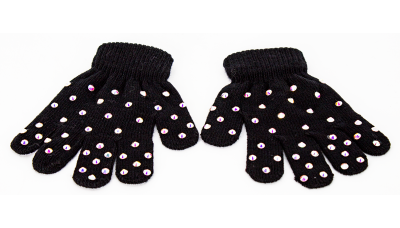 ShinyHandz All Over Rhinestone Youth Gloves