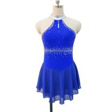 Joyce+Co Sleeveless Mock Neck Ladies Skating Dress- SALE!