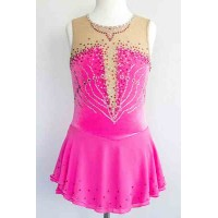 Elite Skate Wear Pink Sleeveless Dress