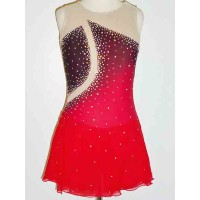 Elite Skate Wear Airbrushed Competition Dress