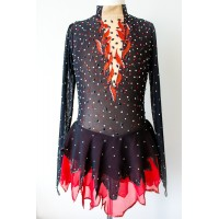 Elite Skate Wear Firebird Dress