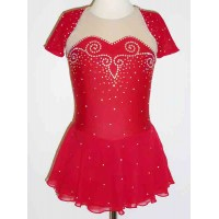 Elite Skate Wear Open Back Short Sleeve Dress
