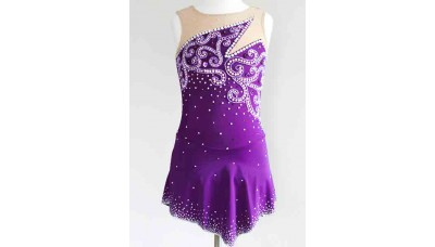 Elite Skate Wear Passion Plum Dress