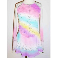 Elite Skate Wear Rainbow Dress