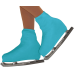 Boot Cover Color: Turquoise
