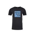 Adults Skate Too Unisex Vintage Black T-Shirt